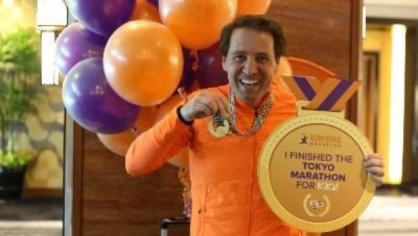 Ambassadeur Noord-Brabant en Limburg,Roger van der Linden, Limburgs heuvelland, sporten, sportshirt, inzetten voor goed doel, KiKa, Run for KiKa Marathon