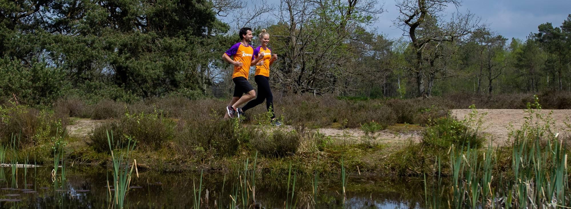 Lopers Veluwe Marathon voor KiKa