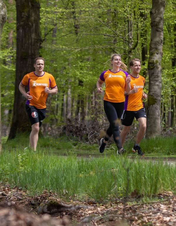 Run for KiKa Marathon renners op de Veluwe